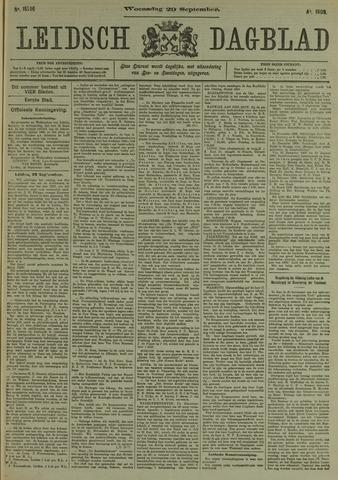 Leidsch Dagblad 1909-09-29