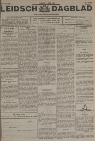 Leidsch Dagblad 1935-07-19