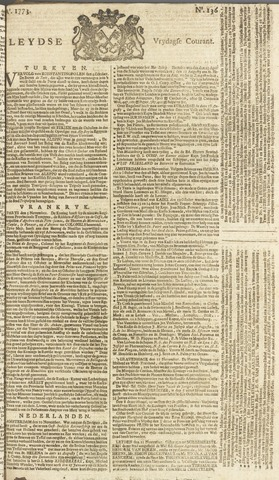 Leydse Courant 1773-11-12
