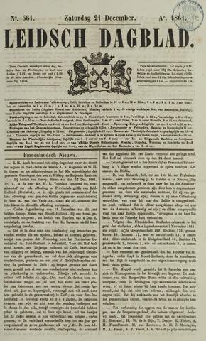 Leidsch Dagblad 1861-12-21