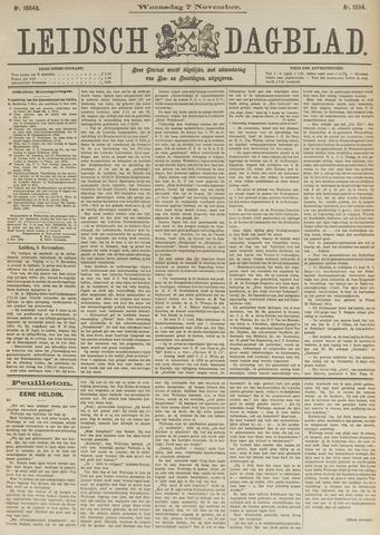 Leidsch Dagblad 1894-11-07