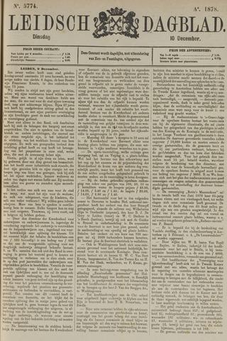 Leidsch Dagblad 1878-12-10
