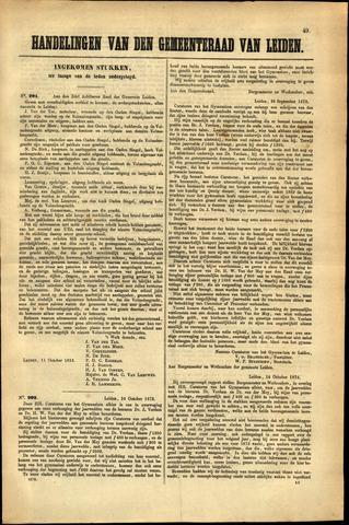 Handelingen van de Raad 1872-10-11