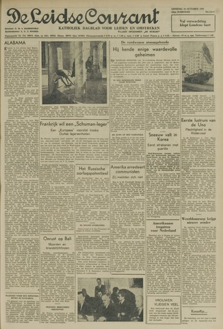 Leidse Courant 1950-10-24