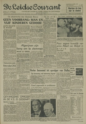Leidse Courant 1959-04-20