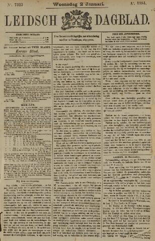 Leidsch Dagblad 1884