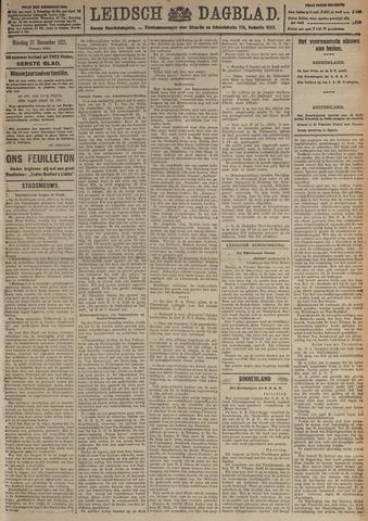 Leidsch Dagblad 1921-12-27