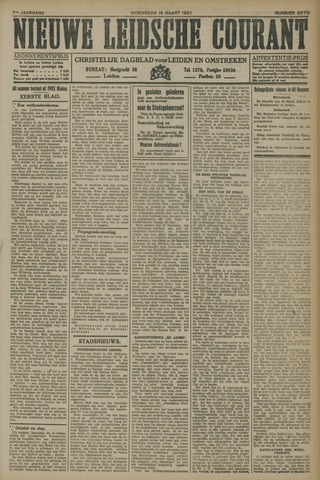 Nieuwe Leidsche Courant 1927-03-16