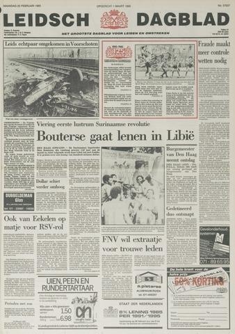 Leidsch Dagblad 1985-02-25