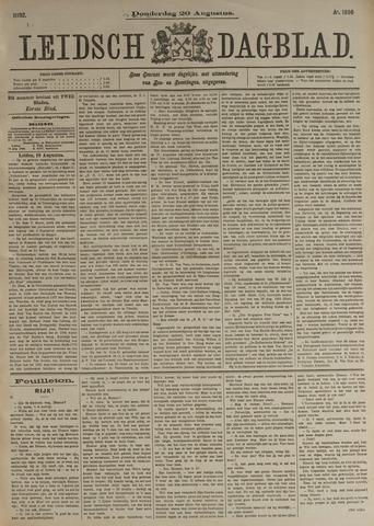 Leidsch Dagblad 1896-08-20