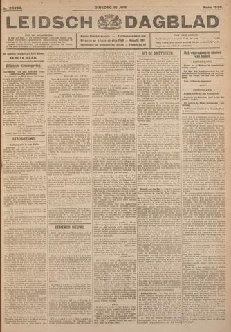Leidsch Dagblad 1926-06-15