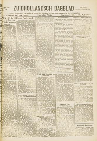Zuidhollandsch Dagblad 1944-09-22