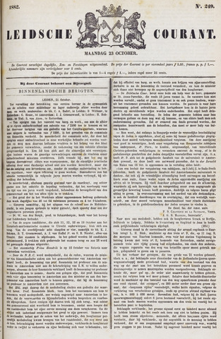 Leydse Courant 1882-10-23