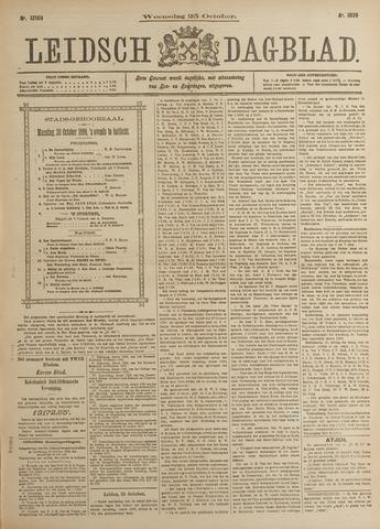 Leidsch Dagblad 1899-10-25