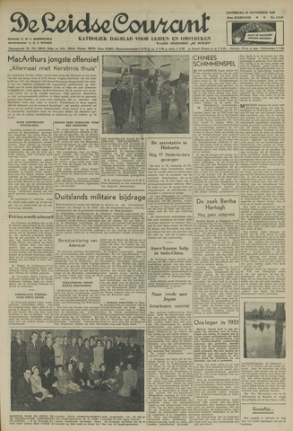 Leidse Courant 1950-11-25