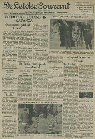 Leidse Courant 1961-09-21