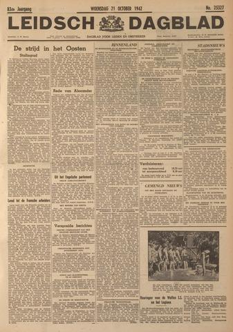 Leidsch Dagblad 1942-10-21