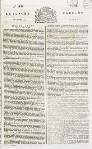 Leydse Courant 1838-07-11