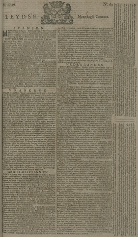 Leydse Courant 1749-05-19