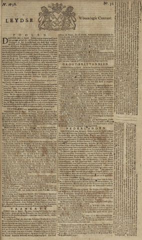 Leydse Courant 1758-04-26