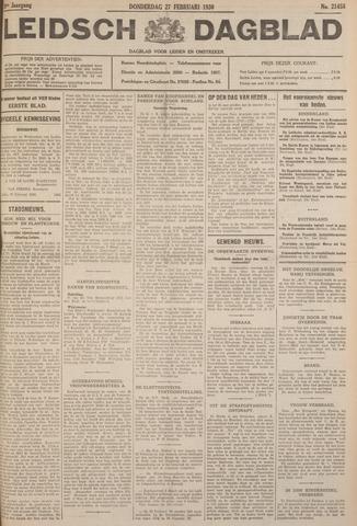 Leidsch Dagblad 1930-02-27
