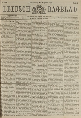 Leidsch Dagblad 1907-09-12