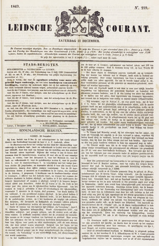 Leydse Courant 1869-12-11