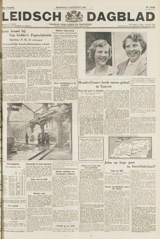 Leidsch Dagblad 1954-08-02