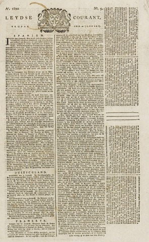 Leydse Courant 1820-01-21