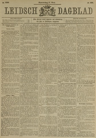 Leidsch Dagblad 1904-05-07