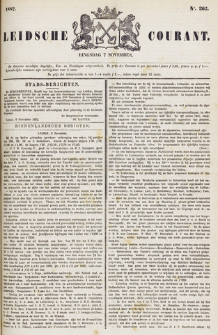 Leydse Courant 1882-11-07