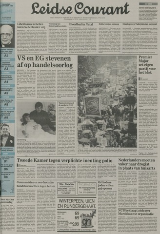 Leidse Courant 1992-10-26