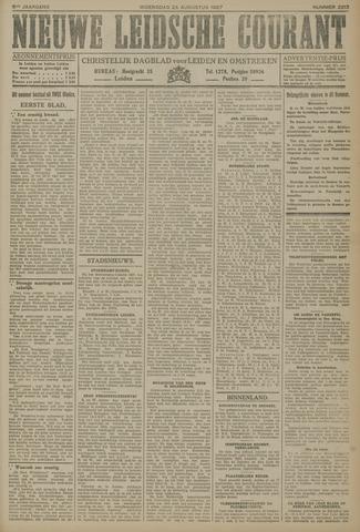 Nieuwe Leidsche Courant 1927-08-24