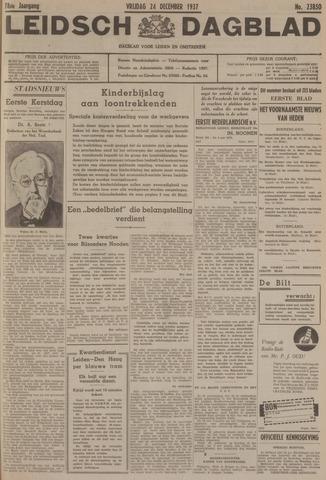 Leidsch Dagblad 1937-12-24
