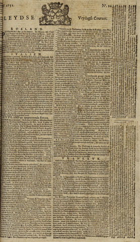Leydse Courant 1751-01-22