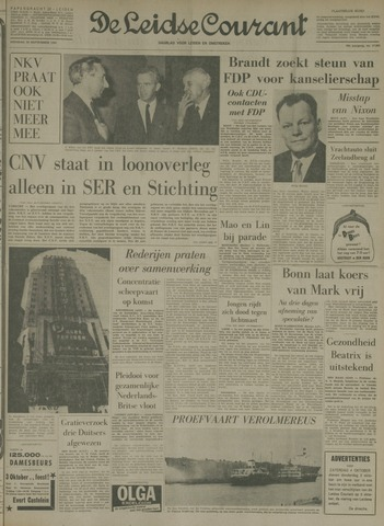 Leidse Courant 1969-09-30