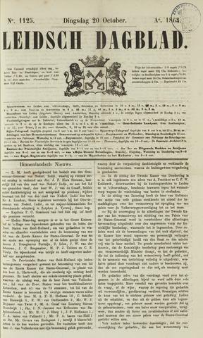 Leidsch Dagblad 1863-10-20