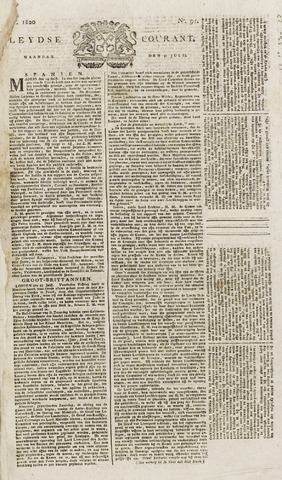 Leydse Courant 1820-07-31