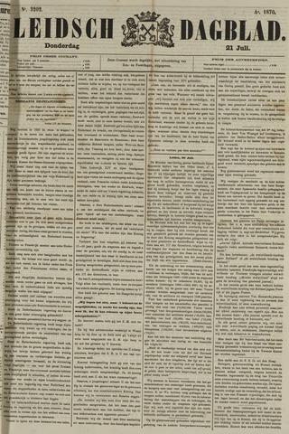 Leidsch Dagblad 1870-07-21