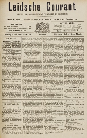 Leydse Courant 1885-07-28