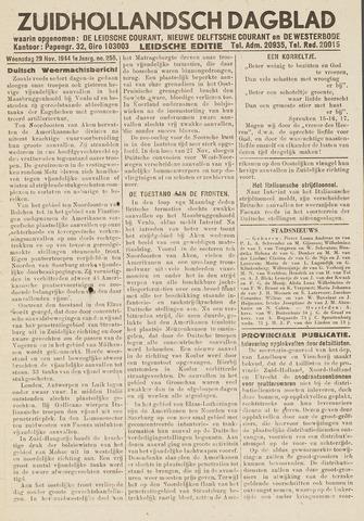 Zuidhollandsch Dagblad 1944-11-29