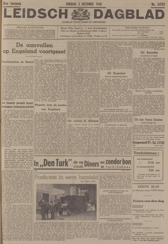 Leidsch Dagblad 1940-12-03