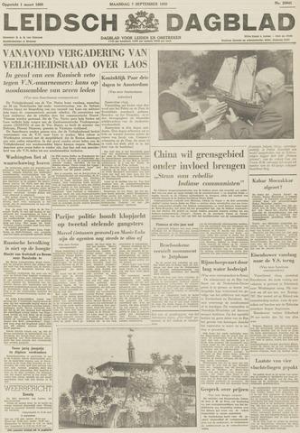 Leidsch Dagblad 1959-09-07