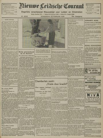Nieuwe Leidsche Courant 1939-02-23