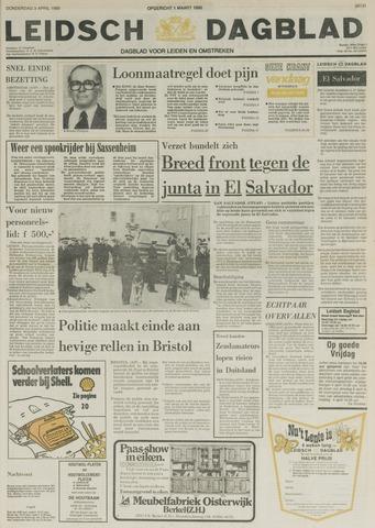 Leidsch Dagblad 1980-04-03