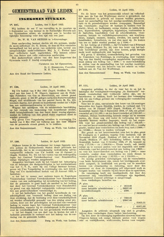 Handelingen van de Raad 1922-04-05