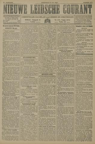 Nieuwe Leidsche Courant 1927-07-06