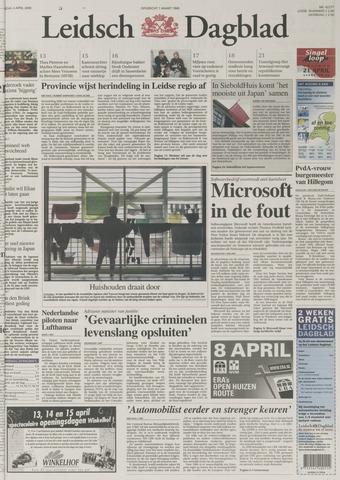 Leidsch Dagblad 2000-04-04