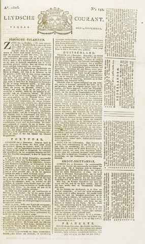 Leydse Courant 1826-11-24