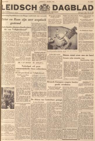 Leidsch Dagblad 1949-03-01